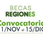 Convocatoria Becas Regiones 2021-1