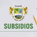 Subsidios Guarne