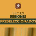 Preseleccionados Becas Regiones comunidad afrodescendiente.
