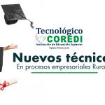 Felicitaciones, Antioquia tiene nuevos Técnicos en Procesos Empresariales Rurales